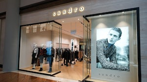 Shandong Ruyi owns SMCP, the French fashion company behind Sandro and Maje. Shutterstock.