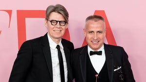 Andrew Bolton and Thom Browne. Shutterstock.