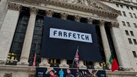 Farfetch listed on the New York Stock Exchange in September 2018. Shutterstock