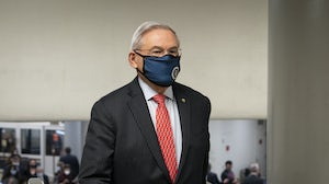 Senator Bob Menendez, a Democrat from New Jersey, led the charge in pushing for corporate diversity disclosures. Getty Images.