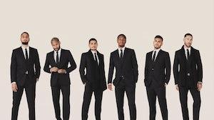 Paris Saint-Germain players in Dior. Dior.