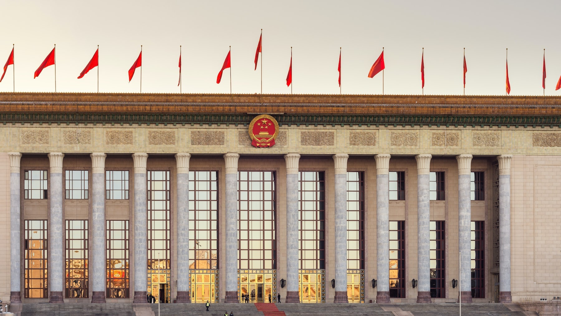 The national legislature of the People\'s Republic of China | Source: Shutterstock