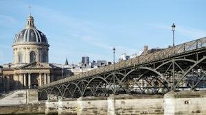 The Pont des Arts, Paris. Shutterstock.