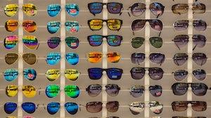 Ray Ban sunglasses. Shutterstock.