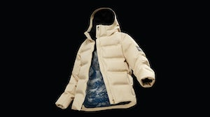 Spiber's Moon Parka, a collaboration with The North Face. Spiber.