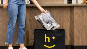 Happy Returns give shoppers an in-person drop off location for online purchases. Happy Returns