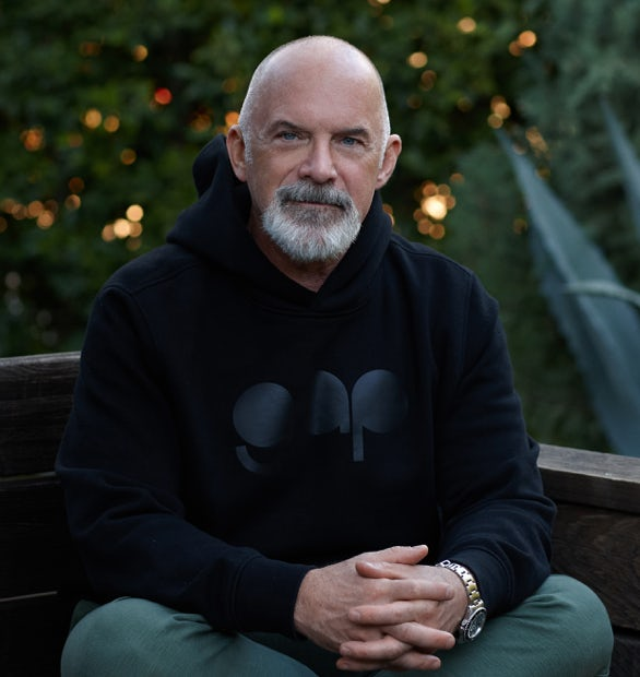 Gap's VP Global Creative Director Len Peltier. Gap