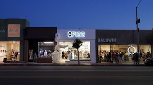 A Figs pop-up store in Los Angeles. Courtesy.