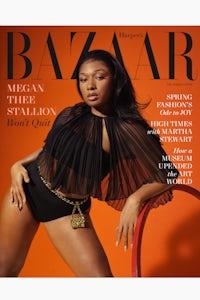 Megan Thee Stallion for Harper's Bazaar. Collier Schorr.
