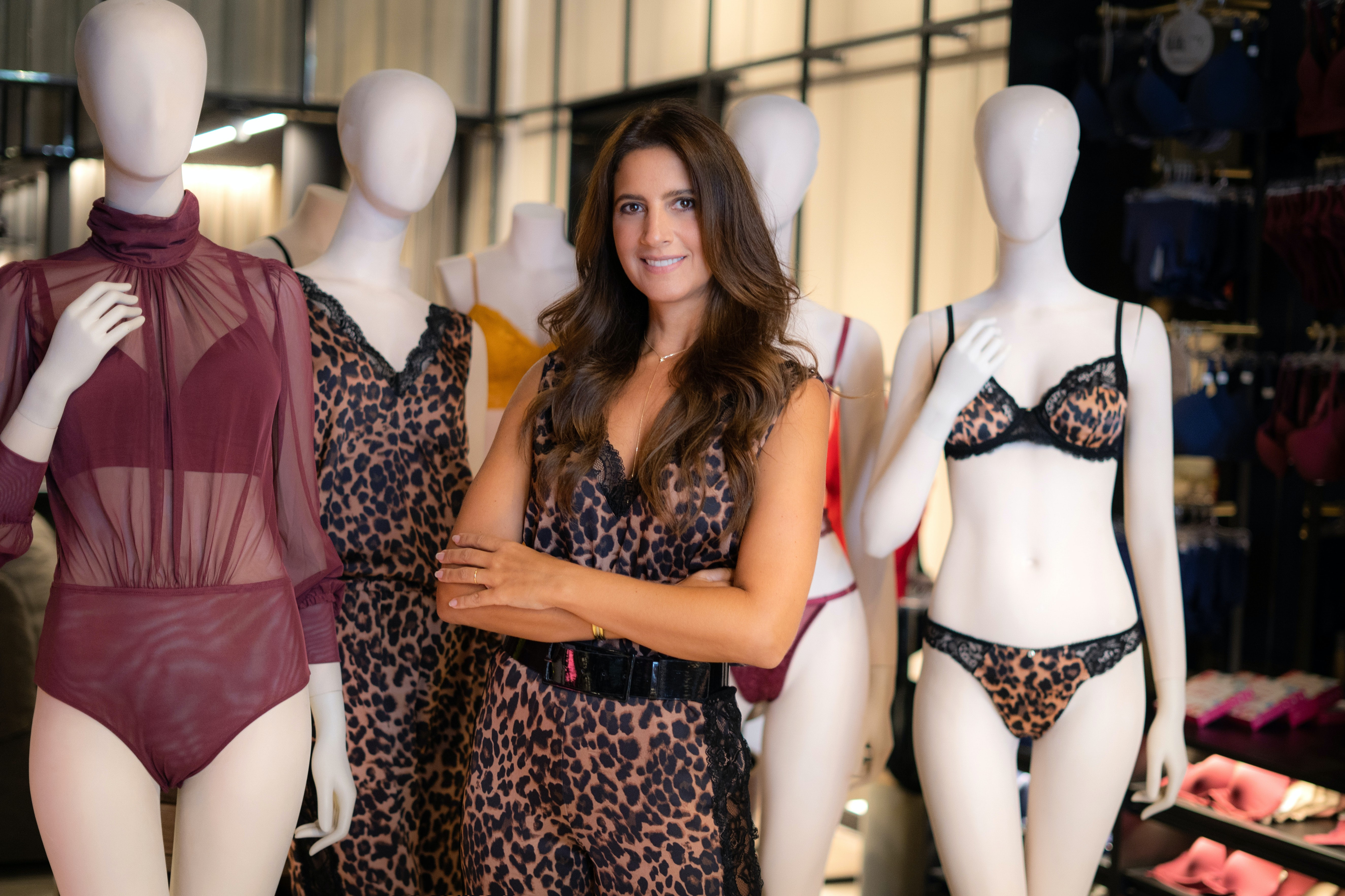Sandra Chayo, CEO of Hope lingerie in Brazil. Courtesy.