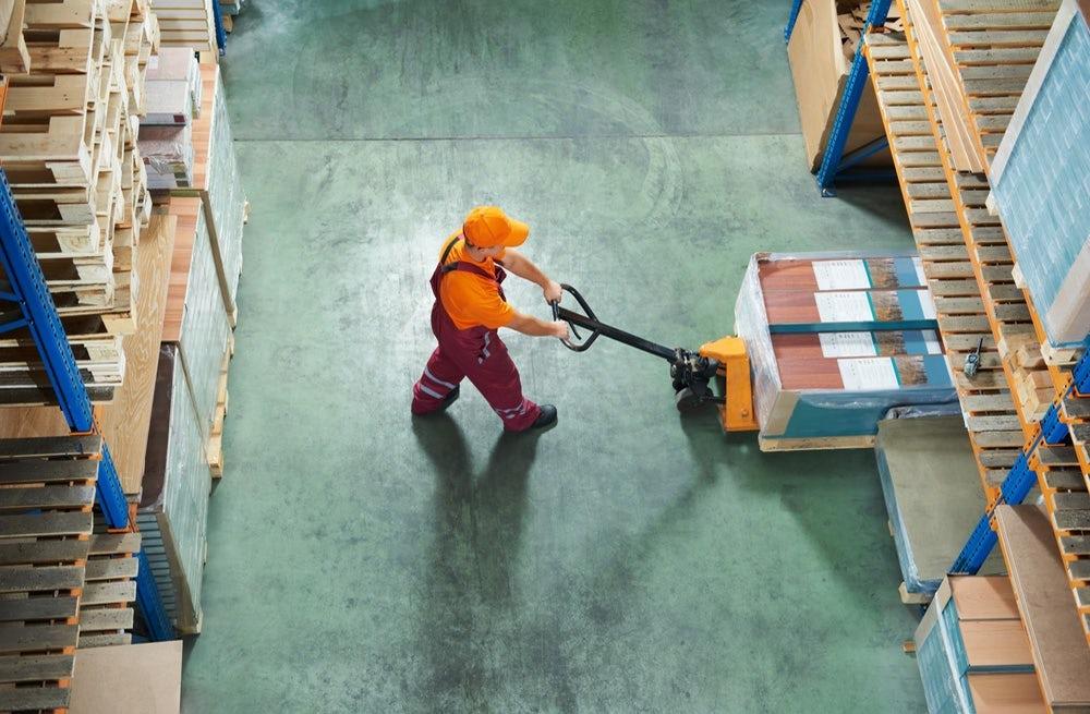 Rocket Internet shipping warehouse. Shutterstock.