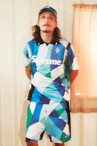 A look from the Supreme x Pucci collaboration. Courtesy.