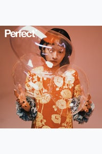 Hsien Ching photographed by Zhong Lin in Gucci for Perfect Magazine. Perfect