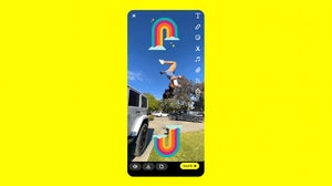 """Snapchat launched its TikTok competitor tool, """"Spotlight."""" Snapchat."""