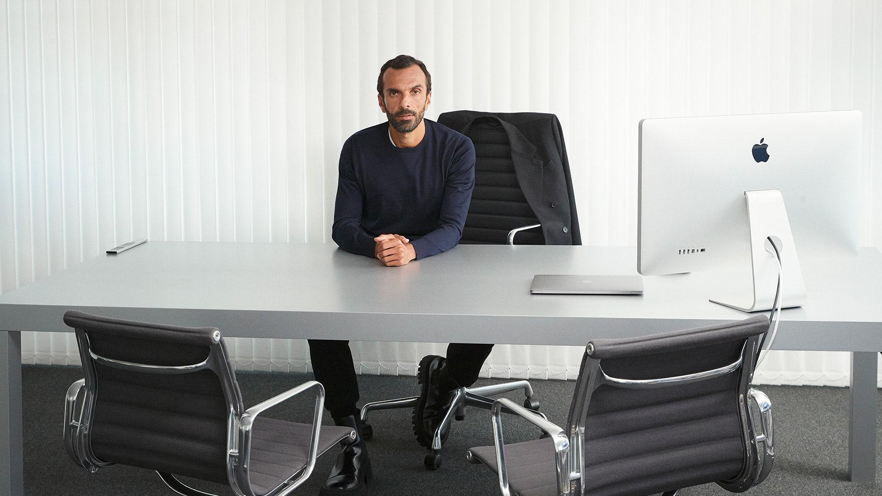Balenciaga chief executive, Cédric Charbit. Thomas Lohr for BoF.