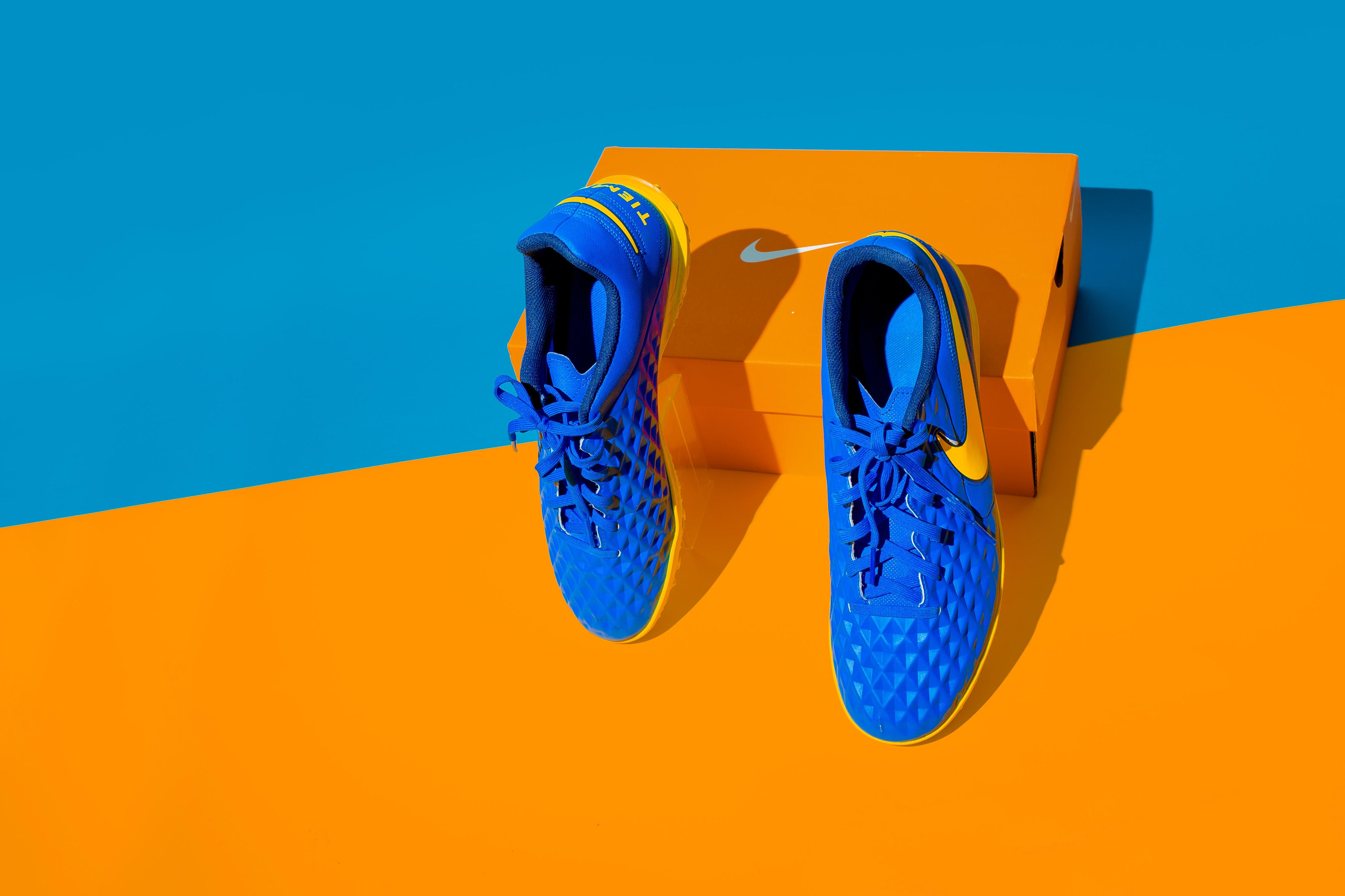 Nike sneakers. Shutterstock.