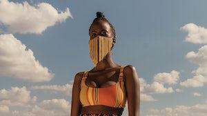 A still from Looku featuring Ohana Swimwear shot by Maganga Mwagogo and creative directed by Sunny Dolat. Courtesy.