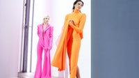 Models rehearse ahead of the Mariam Seddiq show during Afterpay Australian Fashion Week 2021 Resort 2022 Collections in June. Getty Images.