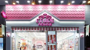 An Etude House store. Amorepacific.