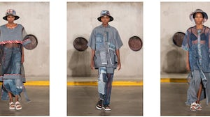 Looks from participating designer Sipho Mbuto. South African Fashion Week