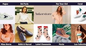 Brands stocked on Ankorstore. Ankorstore via Twitter.