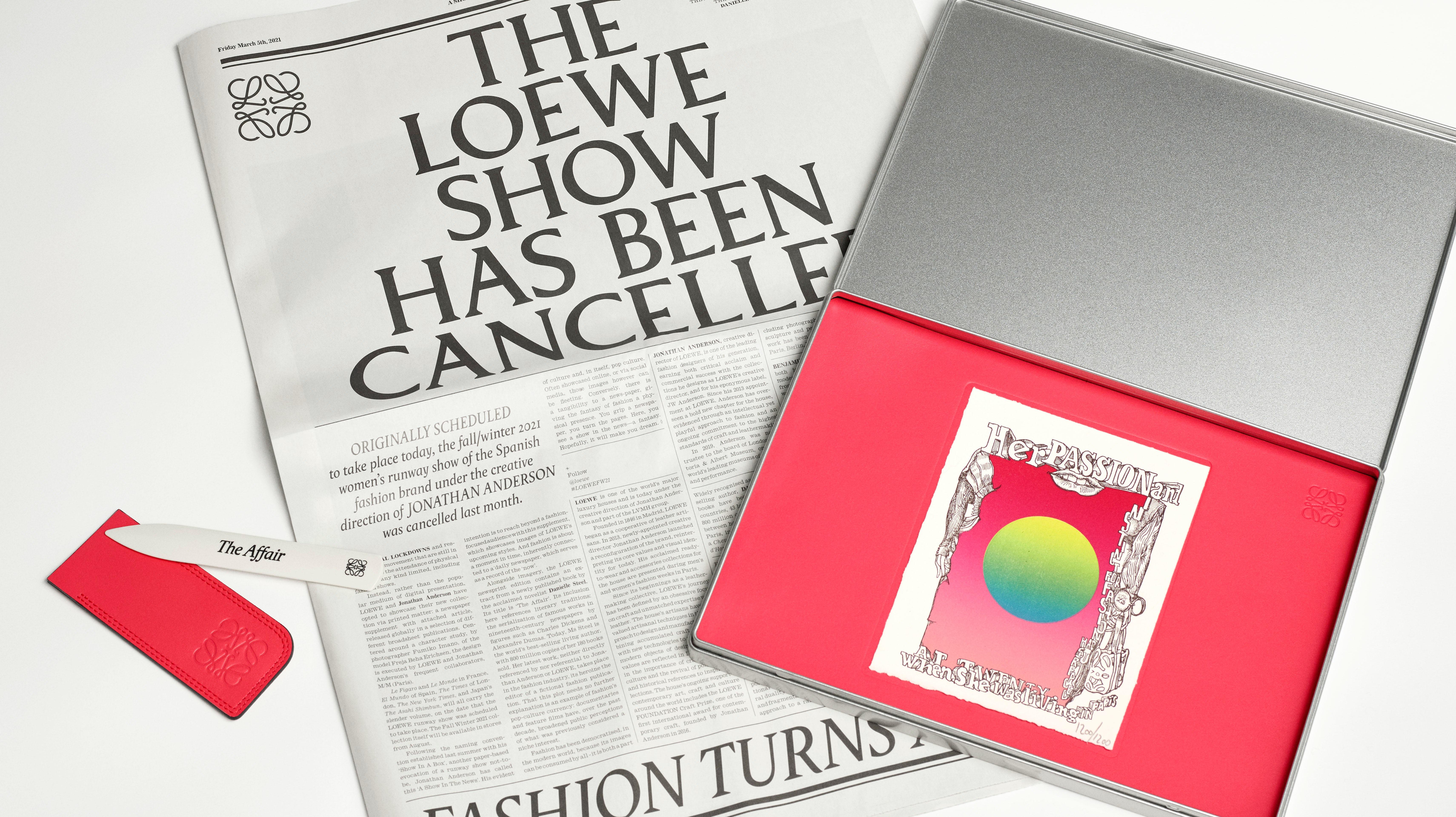 Loewe's Show in the News. Loewe.