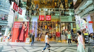 Shoppers can pick up their parcels at Uniqlo stores. Shutterstock.