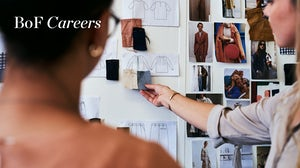Designers reviewing swatches, BoF Careers 2021. Getty Images.