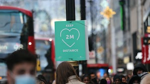 Social distancing restrictions and lockdowns have effected retail in the UK. Shutterstock.
