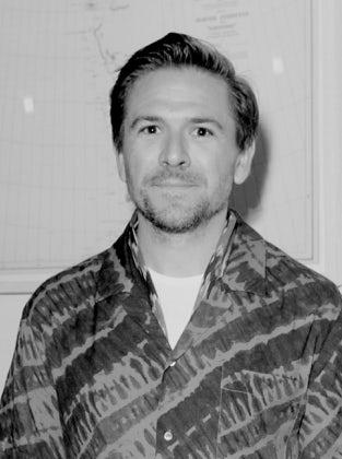 Justin Berkowitz, men's fashion director at Bloomingdale's. CIFF.