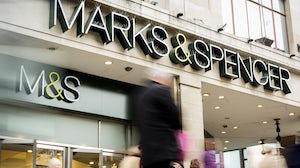 Marks & Spencer store. Shutterstock.