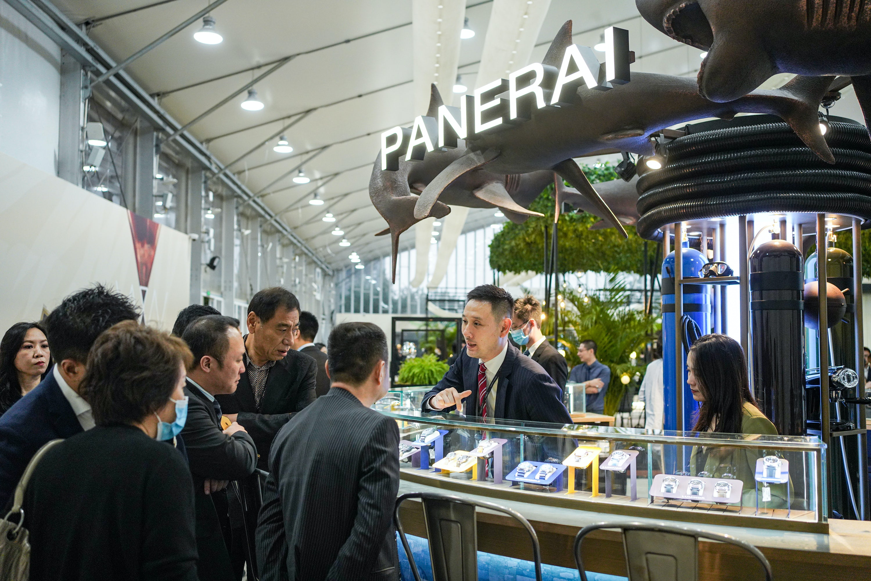 The scene at Watches and Wonders Shanghai 2020. Watches and Wonders.
