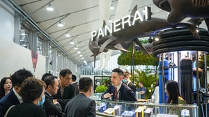 The scene at Watches and Wonders Shanghai 2020. Watches and Wonders