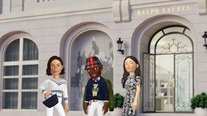 Ralph Lauren Zepeto partnership. Ralph Lauren.