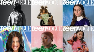 Recent Teen Vogue digital covers. Courtesy