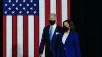 President Joe Biden and Kamala Harris. Drew Angerer/Getty Images