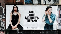 """The """"Not Your Mother's Tiffany"""" campaign sprung up guerilla-style in New York City and Los Angeles. Campaign by Sharif Hamza, street photography Maxwell Schiano for Tiffany."""