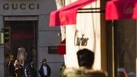 Cartier and Gucci stores in Madrid, Spain. Getty Images.
