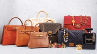 Bags by Hermès, Louis Vuitton and Chanel | Source: What Goes Around Comes Around