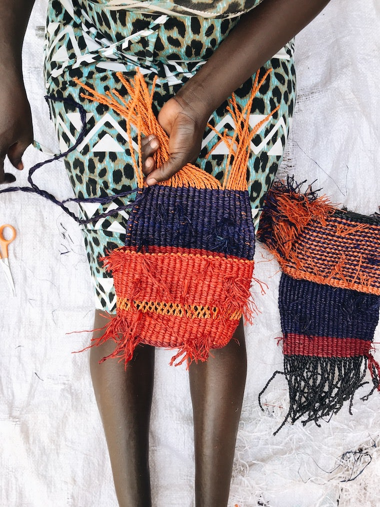 Each AAKS bag takes about a week to handcraft. AAKS.