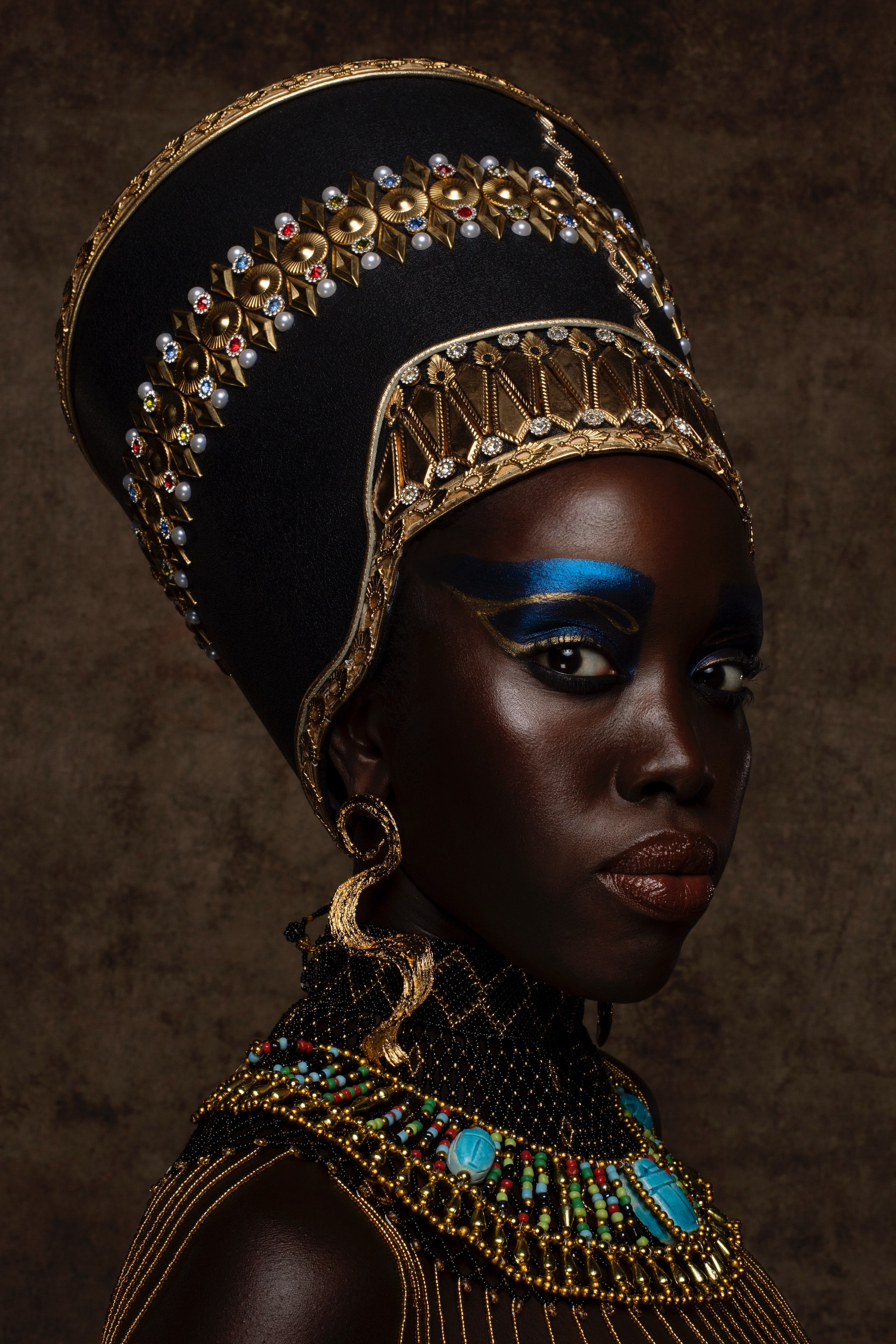 Uoma Beauty put out a collection in honor of the film Coming 2 America that\'s inspired by African queens and is meant to be collectable. Uoma Beauty