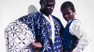 The Africa Fashion exhibition has been in the works for two years.  Victoria and Albert Museum
