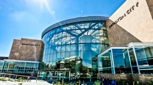 Sandton City Shopping Mall, South Africa. Shutterstock.
