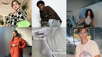 A new wave of retailers are relying on influencers to help curate their merchandise mix. Top, from left to right: The Lobby, In-House, Basic Space. Bottom, from left to right: The Lobby, Basic Space, In-House.