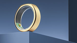 Oura's wearable technology ring. Oura.