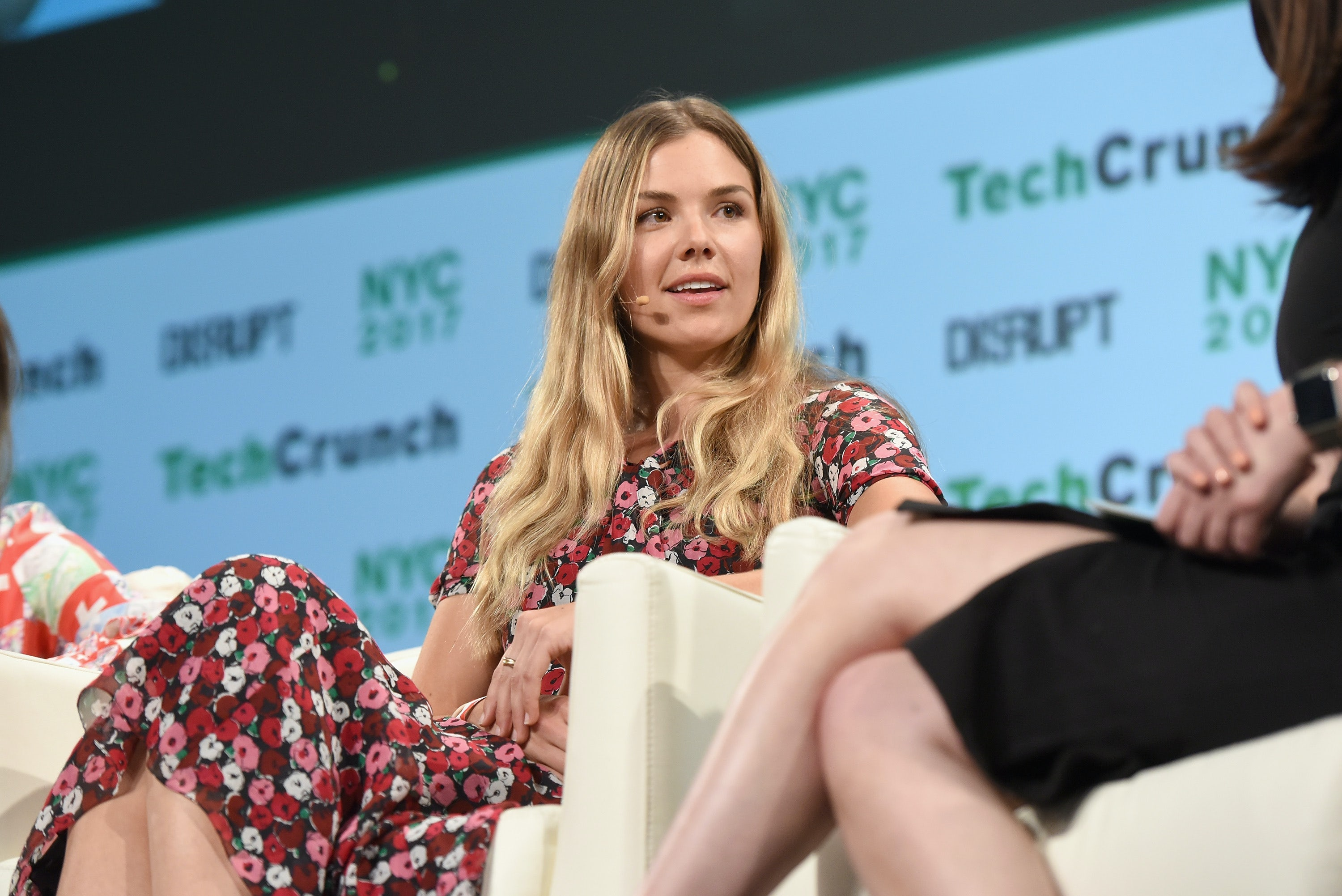 Outdoor Voices Founder Tyler Haney | Source: Noam Galai/Getty Images for TechCrunch