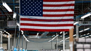 New orders for US-made goods fell in February 2021. Getty Images.