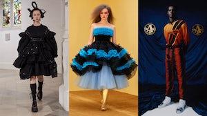 Simone Rocha, Molly Goddard and Ahluwalia Autumn/Winter 2021. Simone Rocha; Molly Goddard; Ahluwalia.