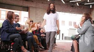 Alessandro Michele, Gucci's creative director. Courtesy of BFA/Matteo Prandoni.