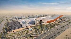 A rendering of the future Mall of Saudi. Majid Al Futtaim